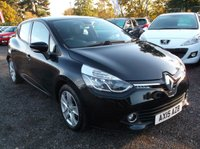 USED 2015 15 RENAULT CLIO 1.5 DYNAMIQUE MEDIANAV ENERGY DCI S/S 5d 90 BHP VERY ECONOMICAL / GREAT SPEC !!