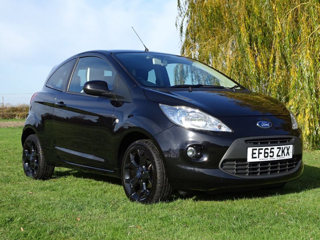 USED 2015 65 FORD KA 1.2 ZETEC BLACK EDITION 3d 69 BHP
