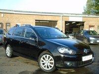 2010 VOLKSWAGEN GOLF 1.6 SPORTLINE TDI BLUEMOTION 5d 103 BHP £4000.00