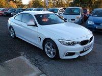 2015 BMW 4 SERIES 2.0 420D XDRIVE M SPORT 2d 181 BHP £15000.00