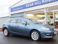 2015 VAUXHALL ASTRA 1.6 ELITE 5dr  (6,000mls.only) £9195.00
