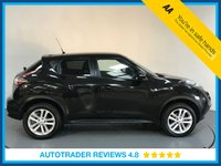 USED 2016 66 NISSAN JUKE 1.6 N-CONNECTA XTRONIC 5d AUTO 117 BHP SERVICE HISTORY - SAT NAV - HALF LEATHER - DAB RADIO - REAR CAMERA - BLUETOOTH - AIR CON - CRUISE