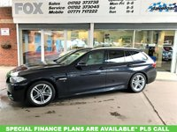 USED 2015 15 BMW 5 SERIES 2.0 520D M SPORT TOURING 5d AUTO 188 BHP VERY HIGH SPEC BMW 520D MSPORT AUTO TOURING