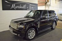 USED 2009 09 LAND ROVER RANGE ROVER 3.6 TDV8 VOGUE SE 5d AUTO 272 BHP 2010 FACELIFTED 2010 FACELIFT UPGRADES - FACTORY REAR DVDs - TOP VOGUE SE SPEC