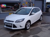 USED 2012 FORD FOCUS 1.6 ZETEC 5d 104 BHP Clean car for age and miles