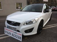 USED 2010 10 VOLVO C30 1.6 D DRIVE R-DESIGN 3d 109 BHP *£30 TAX**STUNNING**F.S.H**R-DESIGN**BLACK ALLOYS*