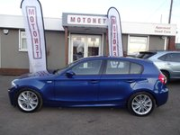 USED 2007 07 BMW 1 SERIES 2.0 118D M SPORT 5DR DIESEL HATCHBACK 141 BHP FREE 12 MONTH WARRANTY UPGRADE