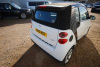 USED 2010 10 SMART FORTWO CABRIO 1.0 PULSE MHD 2d AUTO CONVERTIBLE
