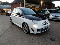 USED 2014 64 ABARTH 500 1.4 ABARTH 595 COMPETIZIONE 3d 160 BHP FULL ABARTH HISTORY,TWO KEYS,XENONS,CLIMATE,BLUE AND ME,FOG LAMPS,