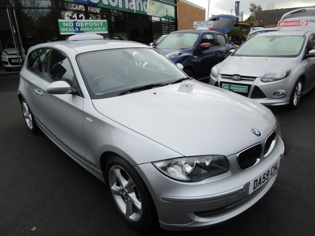USED 2009 59 BMW 1 SERIES 2.0 118D SPORT 3d 141 BHP ** 01543 379066 ** JUST ARRIVED **