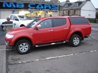 USED 2013 13 MITSUBISHI L200 2.5 DI-D 4X4 TROJAN DCB 1d 176 BHP 1 OWNER FROM NEW,F.S.H