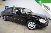 2006 MERCEDES-BENZ S CLASS 5.0 S500 L 4d AUTO 302 BHP £8495.00