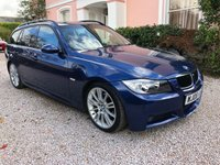 USED 2008 08 BMW 3 SERIES 2.0 320D M SPORT TOURING 5d 175 BHP