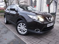USED 2015 65 NISSAN QASHQAI 1.5 DCI ACENTA 5d 108 BHP *** FINANCE & PART EXCHANGE WELCOME *** 1 OWNER £ 0 FREE ROAD TAX BLUETOOTH PHONE CRUISE CONTROL AIR/CON CD PLAYER AUX & USB SOCKETS