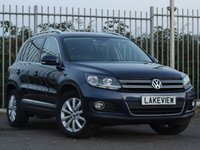 2015 VOLKSWAGEN TIGUAN 2.0 MATCH TDI BLUEMOTION TECHNOLOGY 4MOTION 5d 139 BHP £11469.00