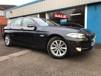 USED 2012 62 BMW 5 SERIES 2.0 520D SE 4d AUTO 181 BHP