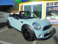 USED 2012 62 MINI CONVERTIBLE 1.6 ONE 2d 98 BHP **JUST ARRIVED ** CONVERTIBLE