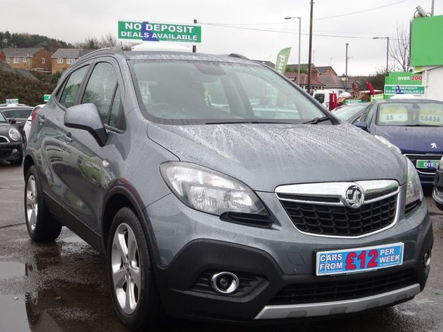 USED 2014 64 VAUXHALL MOKKA 1.4 EXCLUSIV 5d AUTO 138 BHP **NO DEPOSIT FINANCE DEALS AVAILABLE...TEST DRIVE TODAY!!...01543 877320**