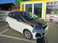 USED 2014 64 PEUGEOT 108 1.0 ACTIVE 3d 68 BHP JUST ARRIVED LOW TAX LOW INSURANCE