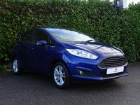 USED 2015 15 FORD FIESTA 1.0 ZETEC 5d 99 BHP Low Mileage, £0 Tax Per Year, Bluetooth, Excellent First Car, Low Insurance Group, Finished In Electric Blue Metallic Paint, Tinted Glass, Heated Front + Rear Screen, Air Conditioning, AUX, USB, Electric Mirrors, Electric Windows, Ready To Drive Away In Under 1 Hour