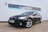 2015 BMW 5 SERIES 2.0 520D M SPORT 4d AUTO 188 BHP £16891.00