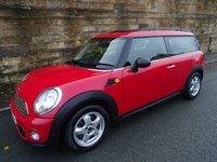2011 MINI CLUBMAN 1.6 ONE 5d 98 BHP £5990.00