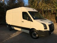 USED 2011 VOLKSWAGEN CRAFTER 2.5 CR35 BLUE TDI H/R FVWSH, Very Tidy