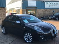 2011 ALFA ROMEO GIULIETTA 2.0 JTDM-2 VELOCE Etna Black Metallic Leather/Cloth Sport Seats 5 Door 170 BHP £5995.00