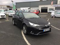 2018 TOYOTA AVENSIS 1.6 D-4D BUSINESS EDITION 4d 110 BHP £14250.00