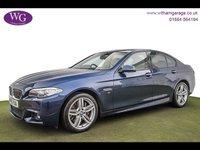 2015 BMW 5 SERIES 3.0 535D M SPORT 4d AUTO 309 BHP £17995.00