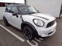2014 MINI COUNTRYMAN 1.6 COOPER D ALL4 5d 112 BHP £11675.00