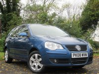 USED 2008 08 VOLKSWAGEN POLO 1.4 MATCH 3d AUTO
