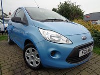 USED 2011 11 FORD KA 1.2 STUDIO 3d 69 BHP **Low Mileage £30 Road Tax Full Service History 12 Months Mot**