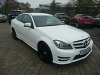 2012 MERCEDES-BENZ C CLASS 2.1 C250 CDI BLUEEFFICIENCY AMG SPORT PLUS 2d AUTO 202 BHP £SOLD
