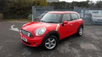 USED 2011 11 MINI COUNTRYMAN 1.6 COOPER D ALL4 5d 112 BHP SILVER ROOF RAILS