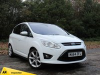 USED 2014 64 FORD C-MAX 1.0 TITANIUM X 5d 124 BHP FULL PANORAMIC GLASS ROOF, LOW MILEAGE