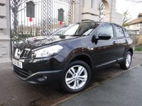 USED 2013 62 NISSAN QASHQAI 1.6 ACENTA 5d 117 BHP FINANCE ARRANGED***PART EXCHANGE WELCOME***CRUISE***BLUETOOTH***AUX***USB***CD PLAYER***AIR CON