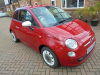 2014 FIAT 500 1.2 COLOUR THERAPY 3d 69 BHP, £30.00 A YEAR ROAD TAX £4750.00