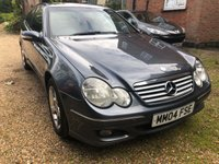 2004 MERCEDES-BENZ C CLASS 1.8 C180 KOMPRESSOR SE SPORTS 3d 141 BHP £1495.00