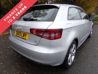 USED 2013 13 AUDI A3 1.6 TDI SPORT 3d 104 BHP SATELLITE NAVIGATION  TWO KEYS MOT 05.08.2019 SERVICE HISTORY PRINT OUTS 2015 / 13121 MILES, 2016 / 26083 MILES, 2017 / 51483 MILES .  2018 / 72319 MILES OIL SERVICE