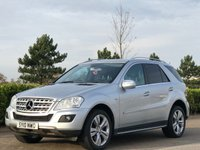 2010 MERCEDES-BENZ M CLASS 3.0 ML300 CDI BLUEEFFICIENCY SPORT 5d AUTO 204 BHP £9395.00