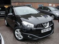 USED 2013 63 NISSAN QASHQAI+2 1.5 DCI ACENTA PLUS 2 5d 110 BHP ANY PART EXCHANGE WELCOME, COUNTRY WIDE DELIVERY ARRANGED, HUGE SPEC