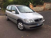 USED 2003 03 VAUXHALL ZAFIRA 2.0 DESIGN DTI 16V 5d 100 BHP ***PART EXCHANGE TO CLEAR*** PLEASE CALL TO VIEW