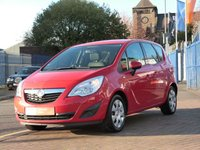 USED 2012 12 VAUXHALL MERIVA 1.4 EXCLUSIV A/C 5d  FULL SERVICE HISTORY  ~ CRUISE CONTROL ~ PARKING SENSORS ~ AIR CONDITIONING