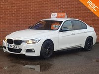 2012 BMW 3 SERIES 2.0 320D M SPORT 4d 184 BHP - EFFICIENT DYNAMICS - FULL BLACK LEATHER £SOLD