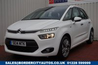 USED 2014 14 CITROEN C4 PICASSO 1.6 E-HDI AIRDREAM EXCLUSIVE 5d 113 BHP £20 PER YEAR ROAD TAX