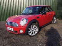 2008 MINI HATCH ONE 1.4 ONE 3d 94 BHP £1950.00