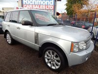 USED 2007 07 LAND ROVER RANGE ROVER 4.2 V8 SUPERCHARGED 5d AUTO 391 BHP 1 OWNER, BIG SPEC CAR, REAR ENTERTAINMENT, LPG CONVERSION