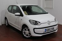 2012 VOLKSWAGEN UP 1.0 MOVE UP BLUEMOTION TECHNOLOGY 3d 59 BHP £5295.00