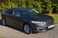 USED 2015 15 FORD MONDEO 2.0 TITANIUM TDCI 5d 148 BHP 1 OWNER FFSH SAT NAV CRUISE BLUETOOTH REAR PRIVACY GLASS TAX £30